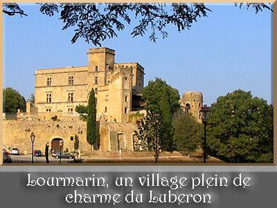 Lourmarin, village du Luberon