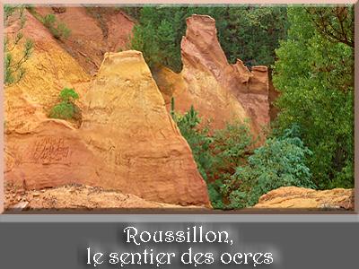 Roussillon, le sentier des ocres