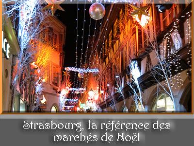 Strasbourg, rue des Orfèvres à Noël