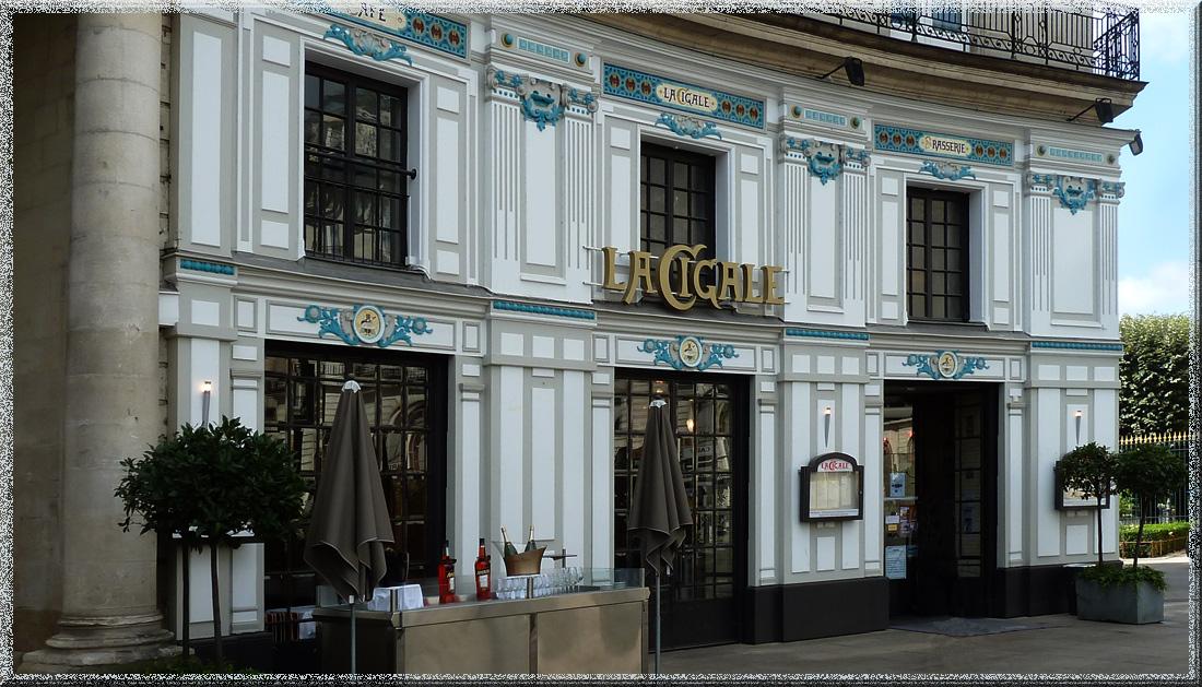 Nantes, restaurant La Cigale