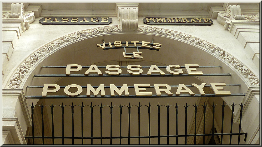Passage Pommeraye à Nantees
