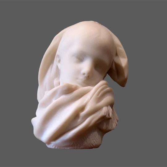 Rodin, l'orpheline alsacienne