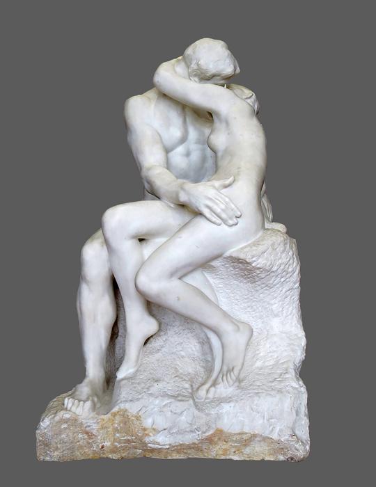 "Rodin, ""Le baiser"""