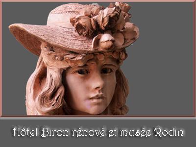 Hôtel Biron rénové et musée Rodin
