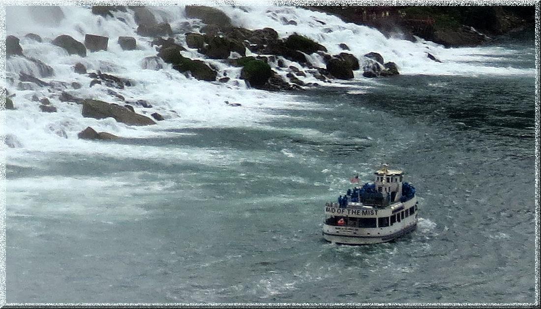 Chutes Niagara Maid of the Mist