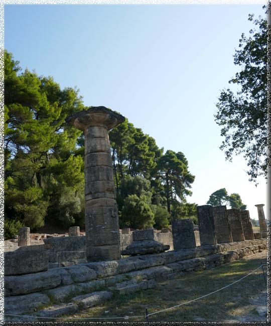 Olympie, temple d'Héra