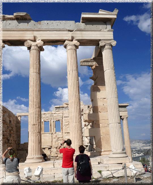 Athènes, Acropole, l'Erechtéion