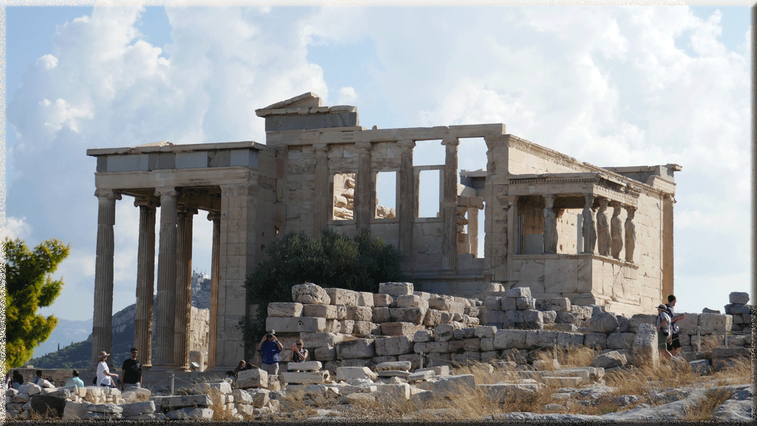 Erechthéion à l'Acropole d'Athènes