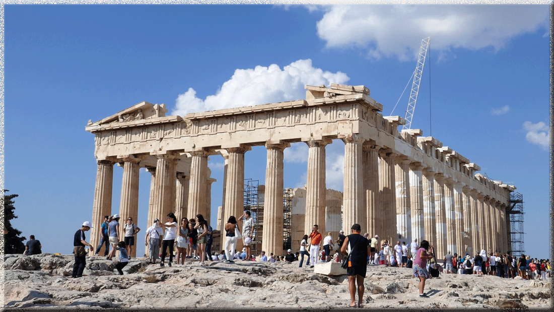 Athènes, le Parthénon