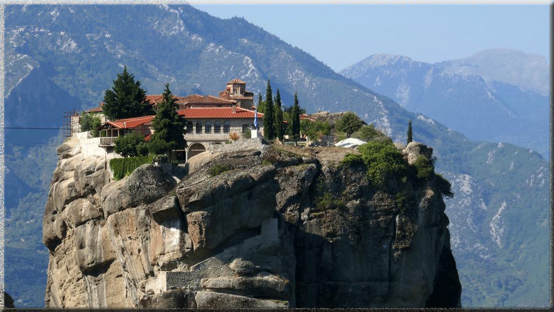 Monastère Varlaam dans les Météores