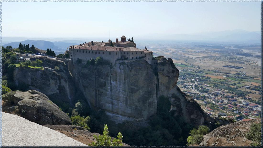 Roussanou, Météores, Grèce