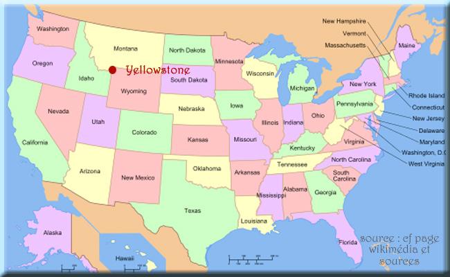 USA-carte