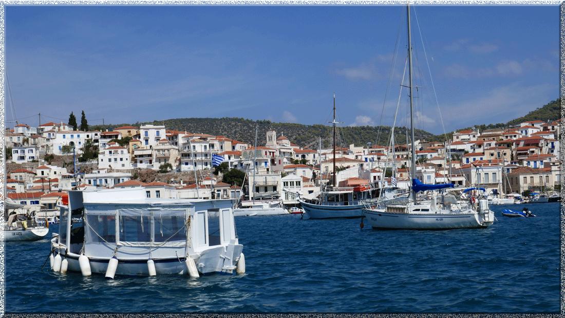 Poros en Grèce