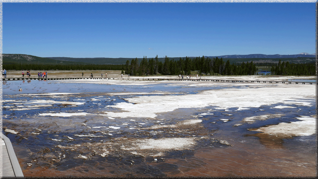 Yellowstone, Midway Geyser Basin