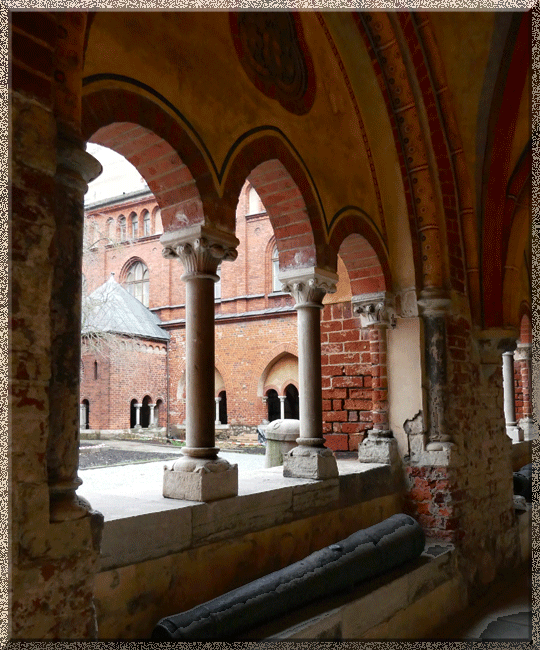 Riga, cathédrale, cloître