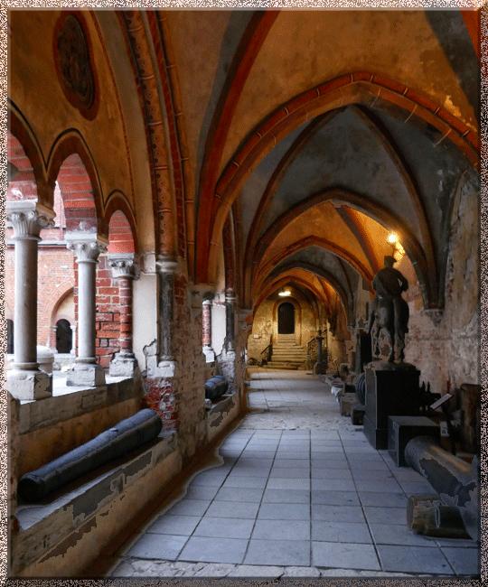 Riga, cloître de la cathédrale