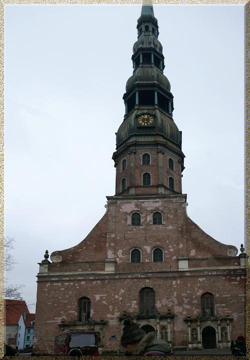 Riga, église St-Pierre