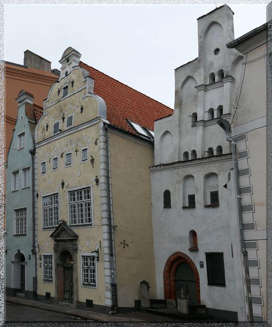 Riga, les Trois Frères