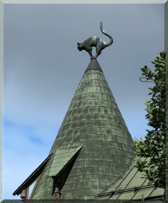 Riga, maison des Chats