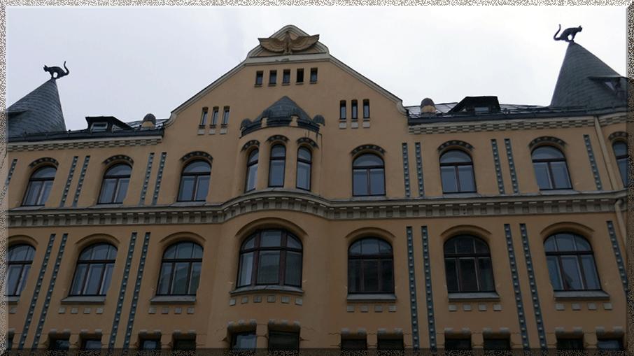 Maison des Chats à Riga
