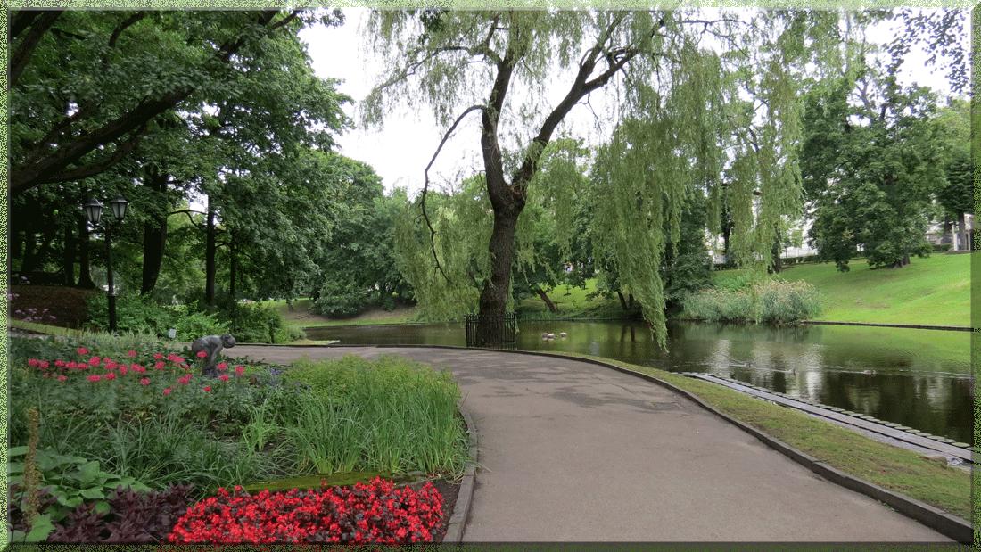 Riga, parc
