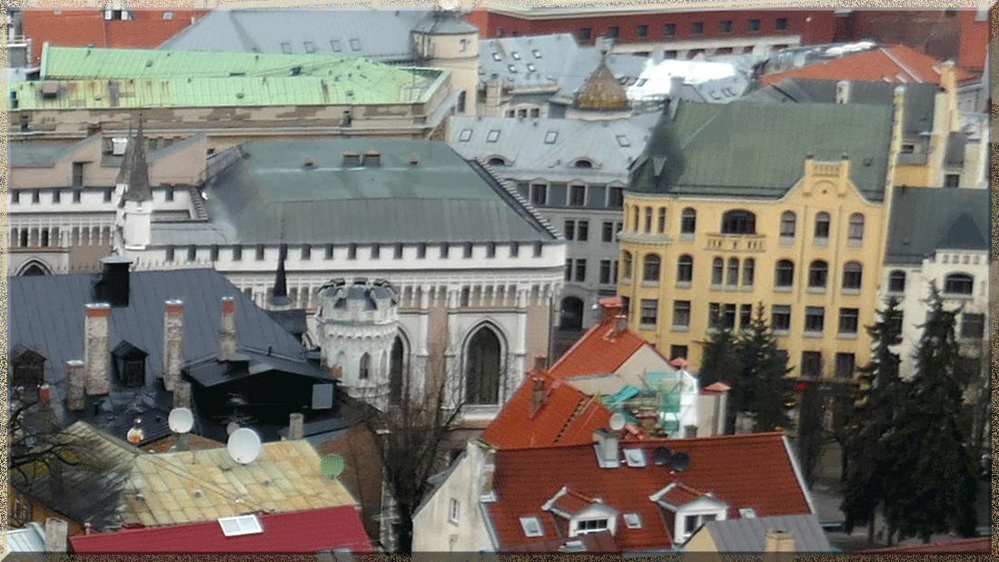 Riga, Petite Guilde et Maison des Chats