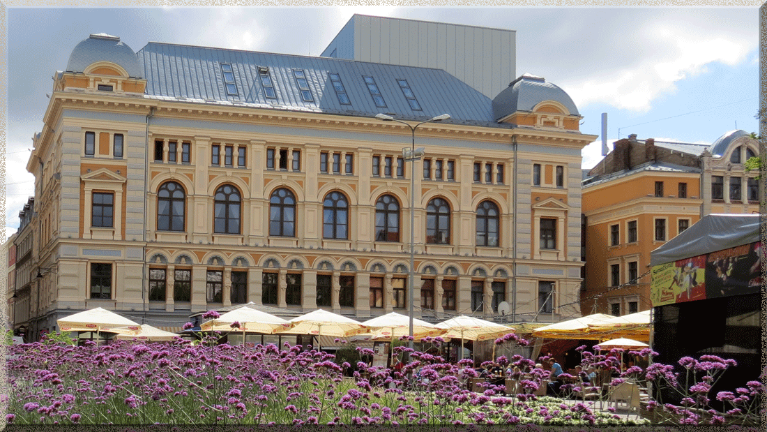 Riga, théâtre d'art dramatique russe