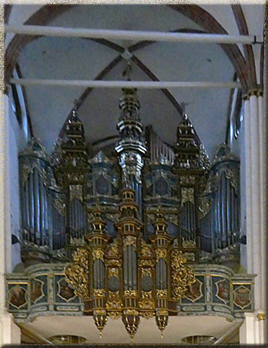 Riga, Cathédrale, orgue