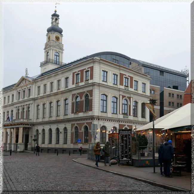 Riga, Hôtel de ville