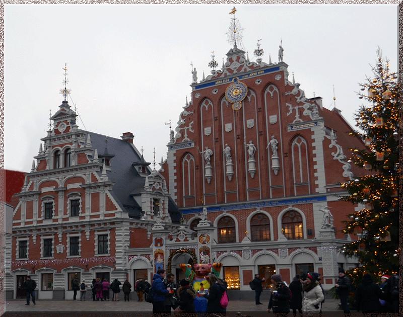 Riga, Maison des Têtes Noires